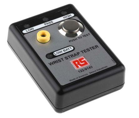 Wrist strap Tester, 9V battery