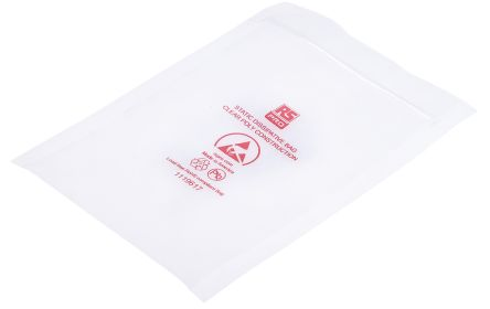 Dissipative Clear Zip Bag,100x150mm,100