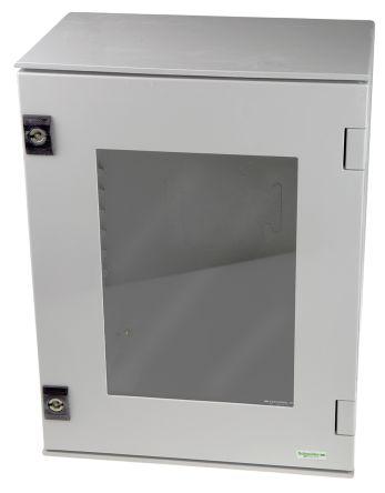 Thalassa PLM IP66 Wall Box, PET, Grey, 647 x 436 x 250mm