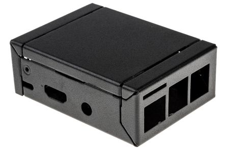 nVent – Schroff Interscale MSeries For Use WithRaspberry Pi 2, Raspberry Pi 3, Black Raspberry Pi Case