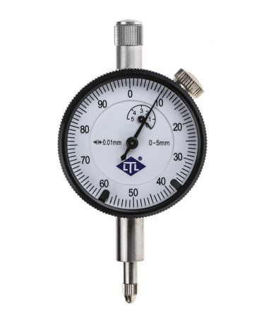RS PRO Plunger Dial Indicator, Range 0  5 mm