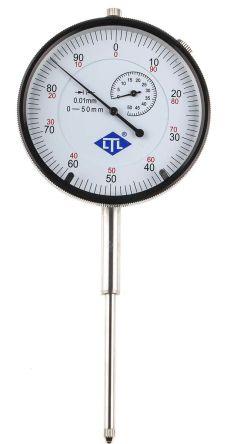 RS PRO Plunger Dial Indicator, Range 0 → 50 mm