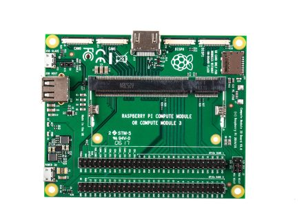 Raspberry Pi Compute Module 3 (CM3) I/O Interface Adapter Board
