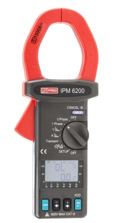 RS PRO IPM6200 Power Quality Analyser