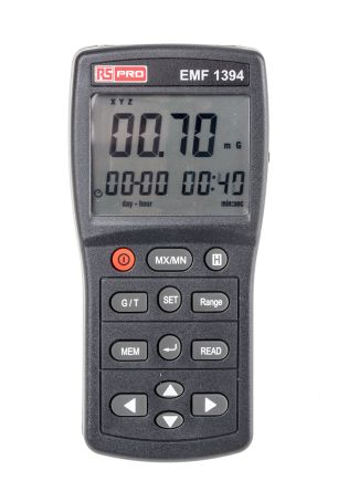 RS Pro Magnetic Field Emission Detector 200 μT, 2000 mG, 30 → 2000Hz