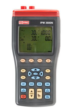 RS PRO IPM3600N Power Quality Analyser