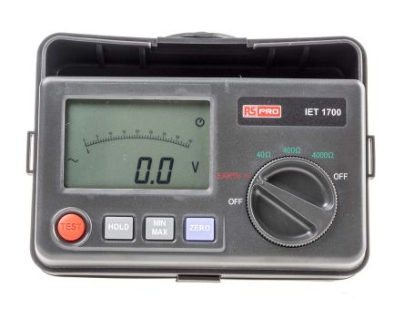 IET1700 Earth & Ground Resistance Tester 3999O UKAS Calibration product photo