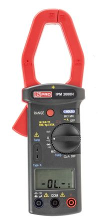 IPM3000N Clamp Meter, Max Current 999.9A ac With RS Calibration product photo