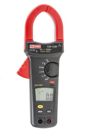ICM133R Clamp Meter, Max Current 1kA ac CAT III 1000 V, CAT IV 600 V With UKAS Calibration product photo