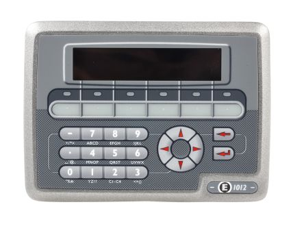 Beijer Electronics E1012 STN HMI Panel, 3 port, 24 V dc Supply, 155 x 114 x 40 mm