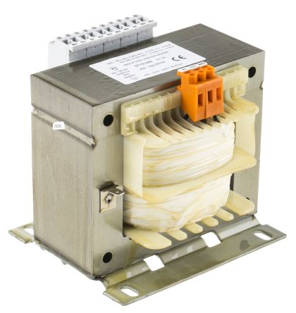 RS Pro 800VA Isolation Transformer, V ac Primary, 4 x 0-55-60V ac Secondary