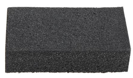 RS PRO Aluminium Oxide Fine Sanding Block 120 Grit, 80mm x 50mm x 20mm
