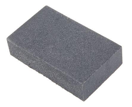 RS PRO Aluminium Oxide Fine Sanding Block 240 Grit, 80mm x 50mm x 20mm