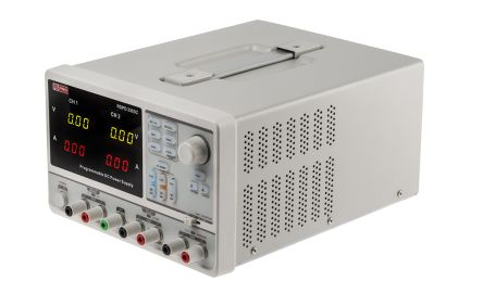RS Pro Programmable Linear Bench Power Supply, 3 Output 0 → 32 V, 2 5 → 5 V  3 2A 220W
