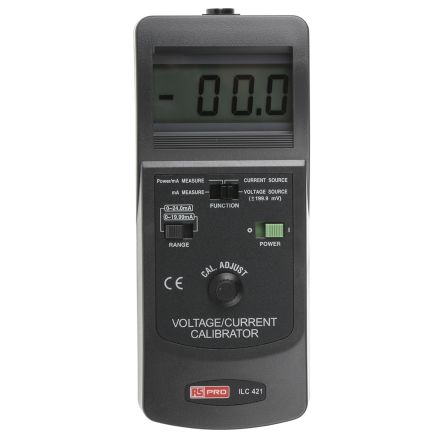 RS PRO CC421-G Current & Voltage Calibrator 0 → 24 mA