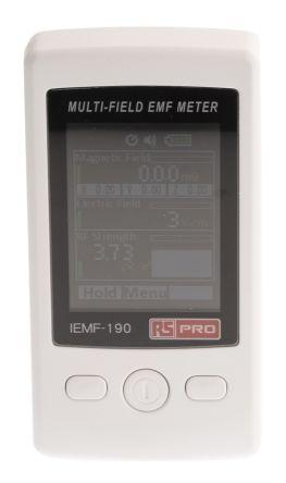 RS PRO Gauss Meter, Maximum of 60Hz