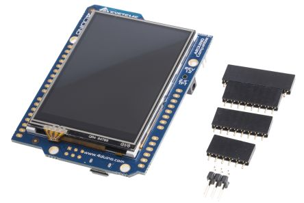 4D Systems 4Duino-24 TFT LCD Colour Display / Touch Screen, 2 4in, 240 x  320pixels