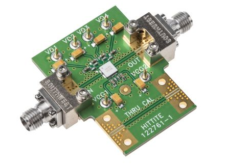 Analog Devices 40GHz MMIC Driver Amplifier Evaluation Board for HMC635LC4