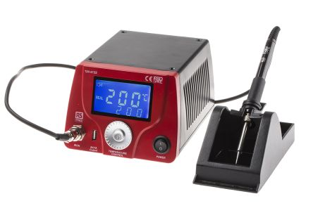 RS Pro, Soldering Station, 220 → 240V ac, +200°C to +480°C