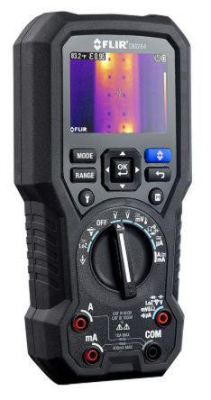 FLIR DM284 Handheld Thermal Imaging Multimeter, 10A ac 1000V ac 10A dc  1000V dc