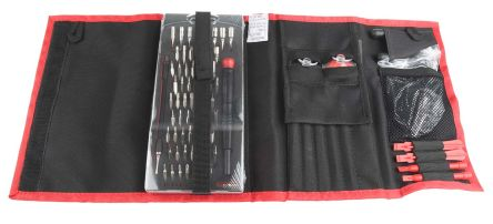 RS PRO 88 Piece Phone Repair Tool Kit with Case