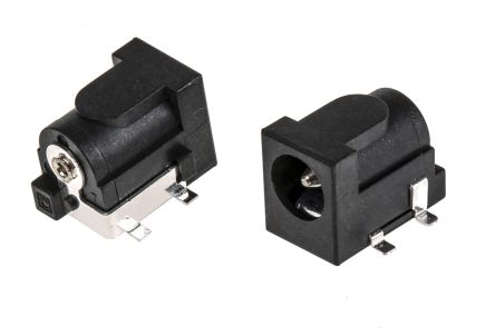 PCB Mount DC Power Socket 2.1 mm, 2.5 mm 2A product photo