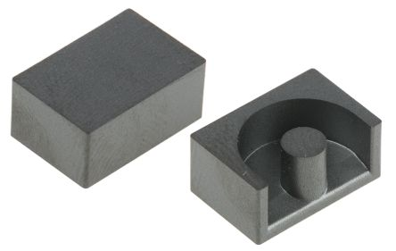 EPCOS N87 Ferrite Core, 1100nH, 11.8 x 7.85 x 10.4mm, For Use With Power Transformers