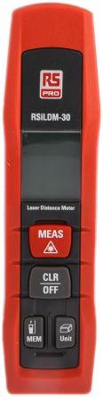 RS PRO ILDM-30 Laser Measure, 0.05 → 30 m Range, ±1.5 mm Accuracy