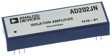 Analog Devices AD202JN, Isolation Amplifier, 15 V, 11-Pin PDIP
