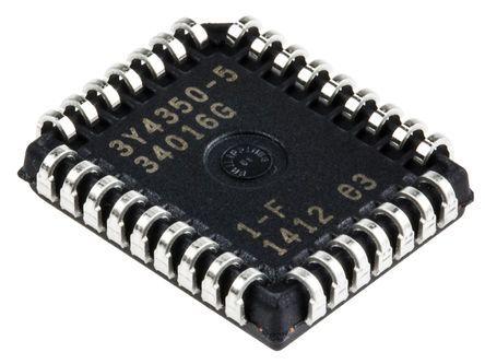 Microchip AT27C010-45JU, EPROM 1Mbit 128K x 8 bit 45ns 32-Pin PLCC
