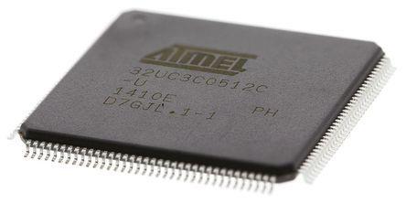 Microchip AT32UC3C0512C-ALUT, 32bit AVR32 Microcontroller, 66MHz, 512 kB Flash, 144-Pin LQFP