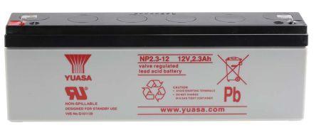 NP2 3-12 Lead Acid Battery - 12V, 2 3Ah
