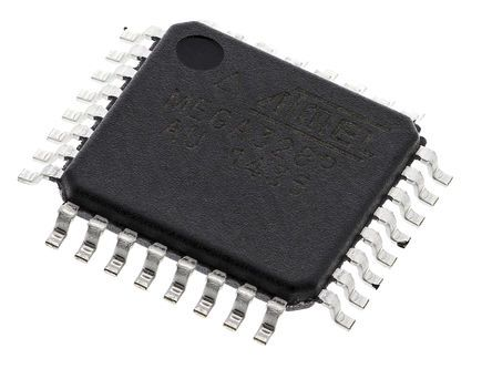 Microchip Technology ATMEGA328P-AU, 8bit AVR Microcontroller, 20MHz, 32 kB Flash, 32-Pin TQFP