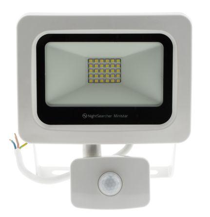 20W PIR SMD LED Floodlight - 1,600 lm