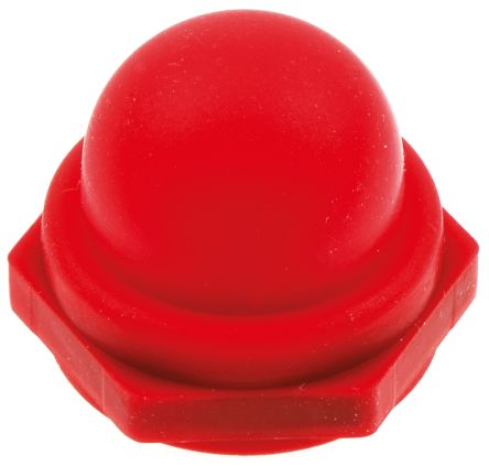 Push Button Boot, for use with Miniature Push Button Switch,Red
