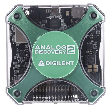 Analog Discovery 2 100-MSPS USB Oscilloscope; Logic Analyzer & Variable Pwr Spl