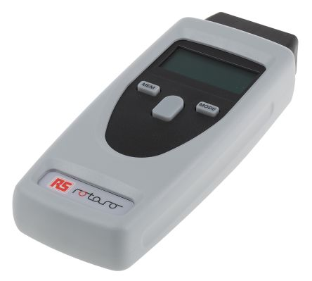 RS Pro Tachometer, Best Accuracy ±0 02 % Optical LCD 99999rpm