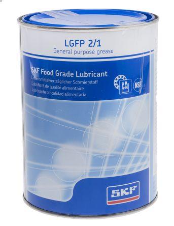 SKF Aluminium Complex Grease 1 kg LGFP 2 Tin,Food Safe