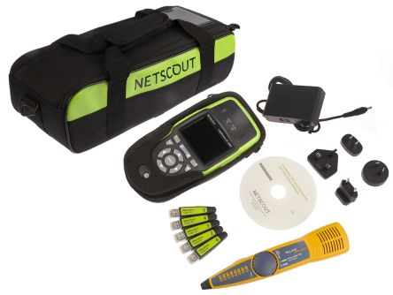 Netscout Network Cable Tester Auto Tester Kit RJ45, LinkRunner LRAT-2000-KIT