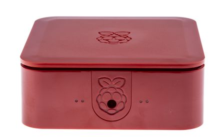 DesignSpark Quattro Raspberry Pi Case for use with Raspberry Pi 2, Raspberry Pi 3, Raspberry Pi B+, Red