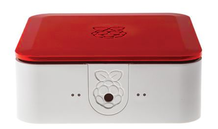DesignSpark Quattro, Red, White Raspberry Pi Case