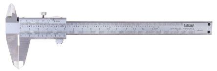 RS PRO Imperial, Metric 150 mm Vernier Caliper, External Micrometer Measuring Set