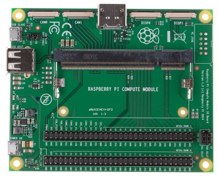 Raspberry Pi CM1 I/O Board Adapter for use with Raspberry Pi Compute Module 1