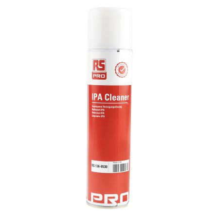 RS PRO 400 ml Aerosol Isopropyl Alcohol (IPA) for Electronics, General  Cleaning