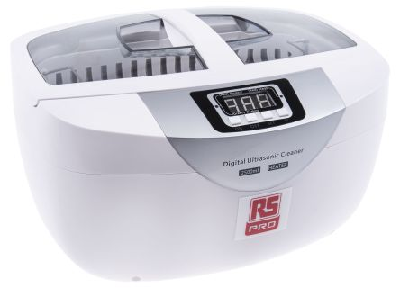 Ultrasonic Cleaner, 50W, 2.5L with Lid product photo