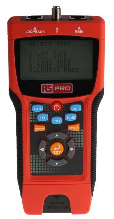 RS PRO LAN Test Equipment of Distance to Fault