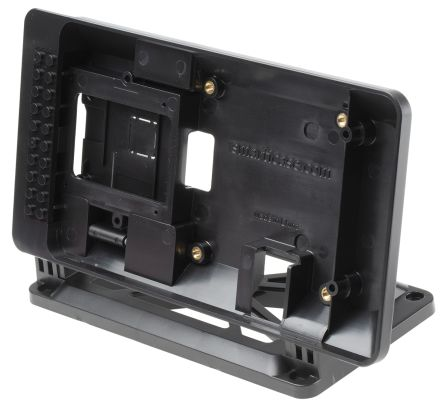 Smarticase SmartiPi Touch Raspberry Pi Case for use with Raspberry Pi Display, Black