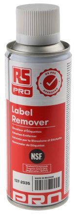 RS PRO 200 ml Aerosol Label Remover
