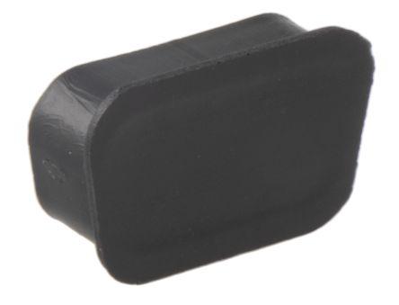 705Series, Female 9 Way D-sub Connector Dust Cap, PP