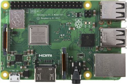 Raspberry Pi 3 Model B+ SBC Computer Board with -